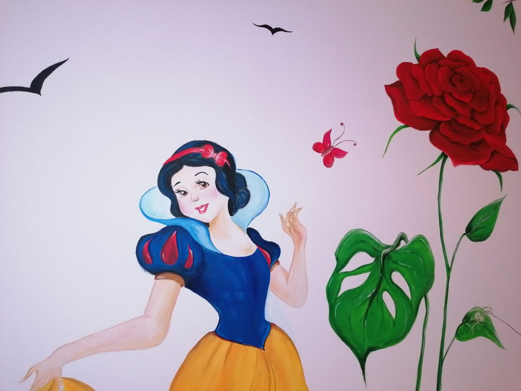 Pictura perete personaje